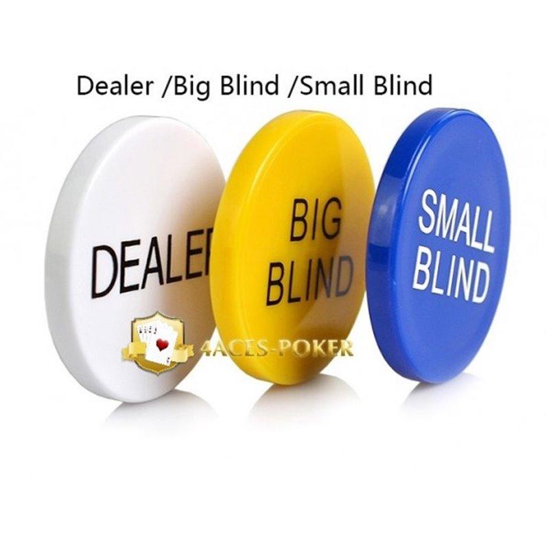 Standard Dealer- Small- Big Button