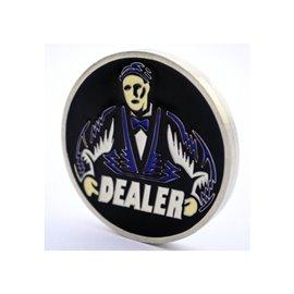 Dealer Button Metall