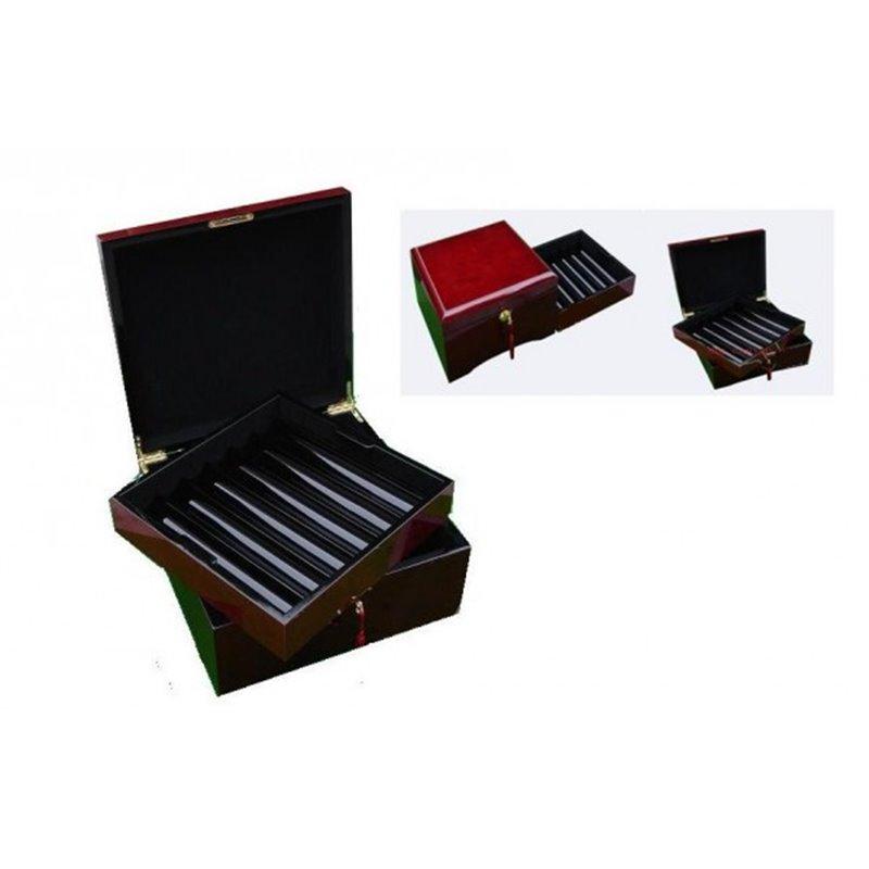 Mahagoni Pokerkoffer 750