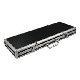 Alu-Pokerkoffer schwarz/silber