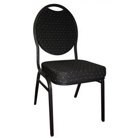 10 x Stuhl Cardroom schwarz